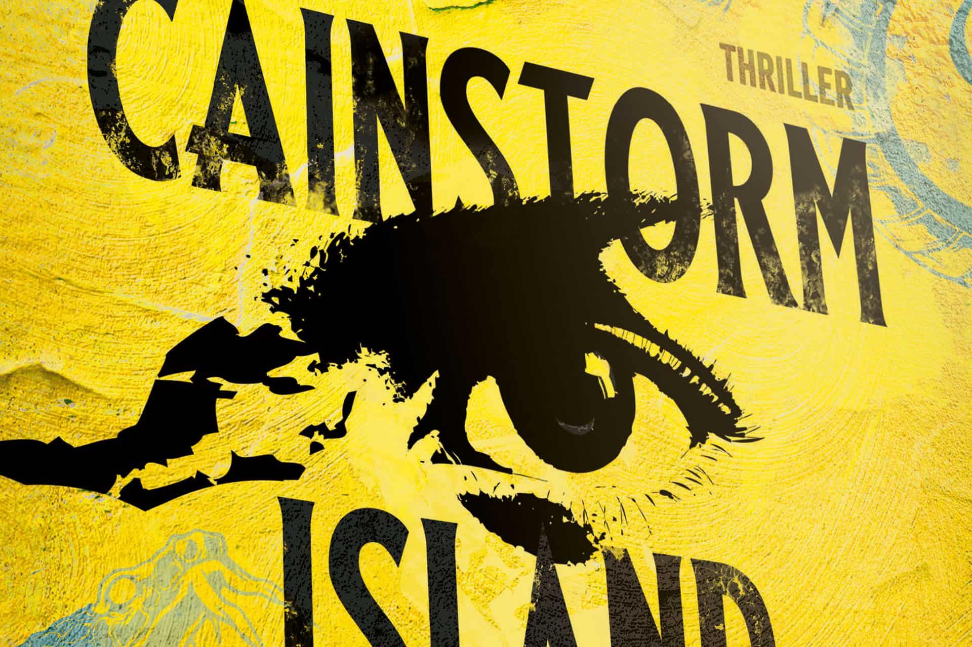 Ausschnitt des Covers von Cainstorm Island