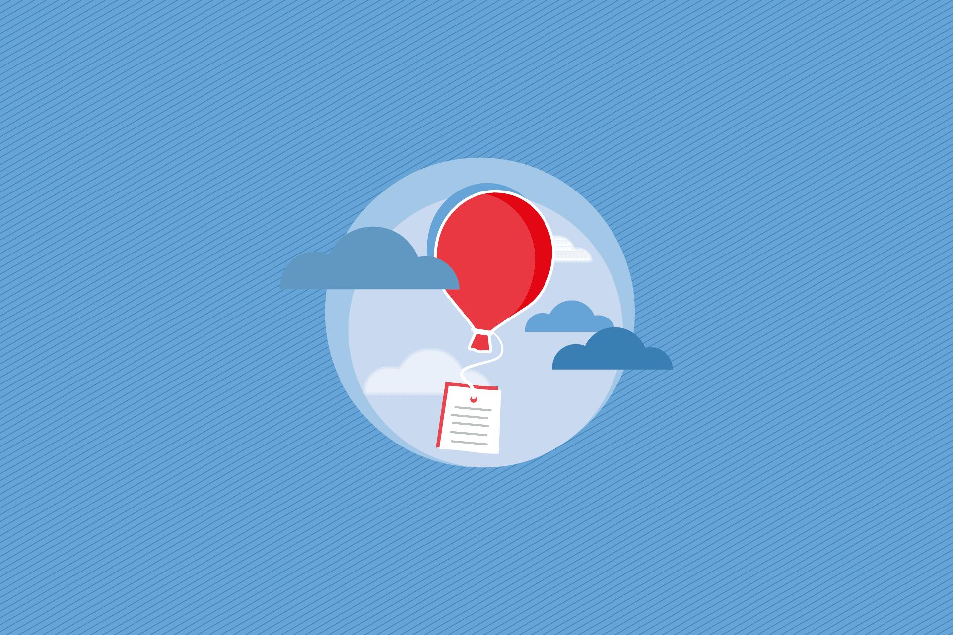 Grafik Luftballon