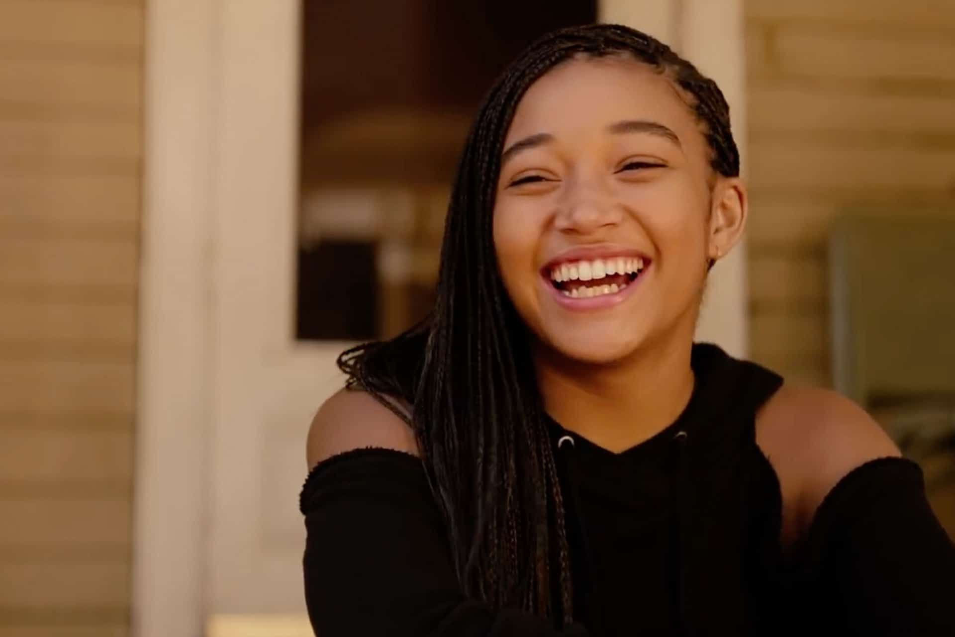 "Starr aus dem Film ""The Hate U Give"""
