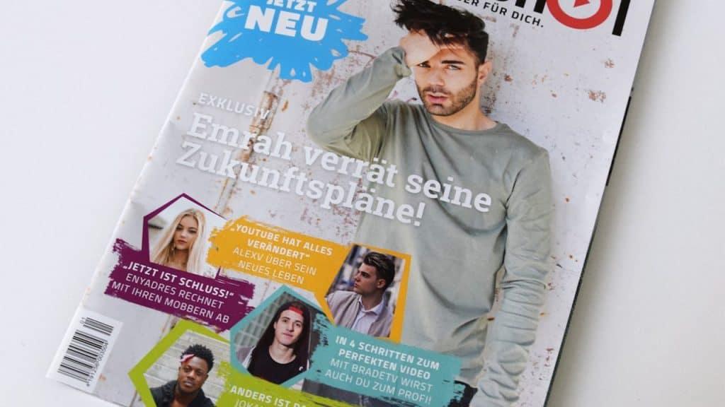 Cover des neuen Magazins #screenshot