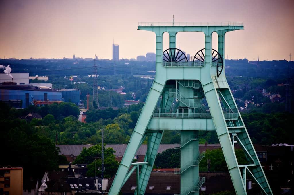 Blick über das Deutsche Bergbaumuseum