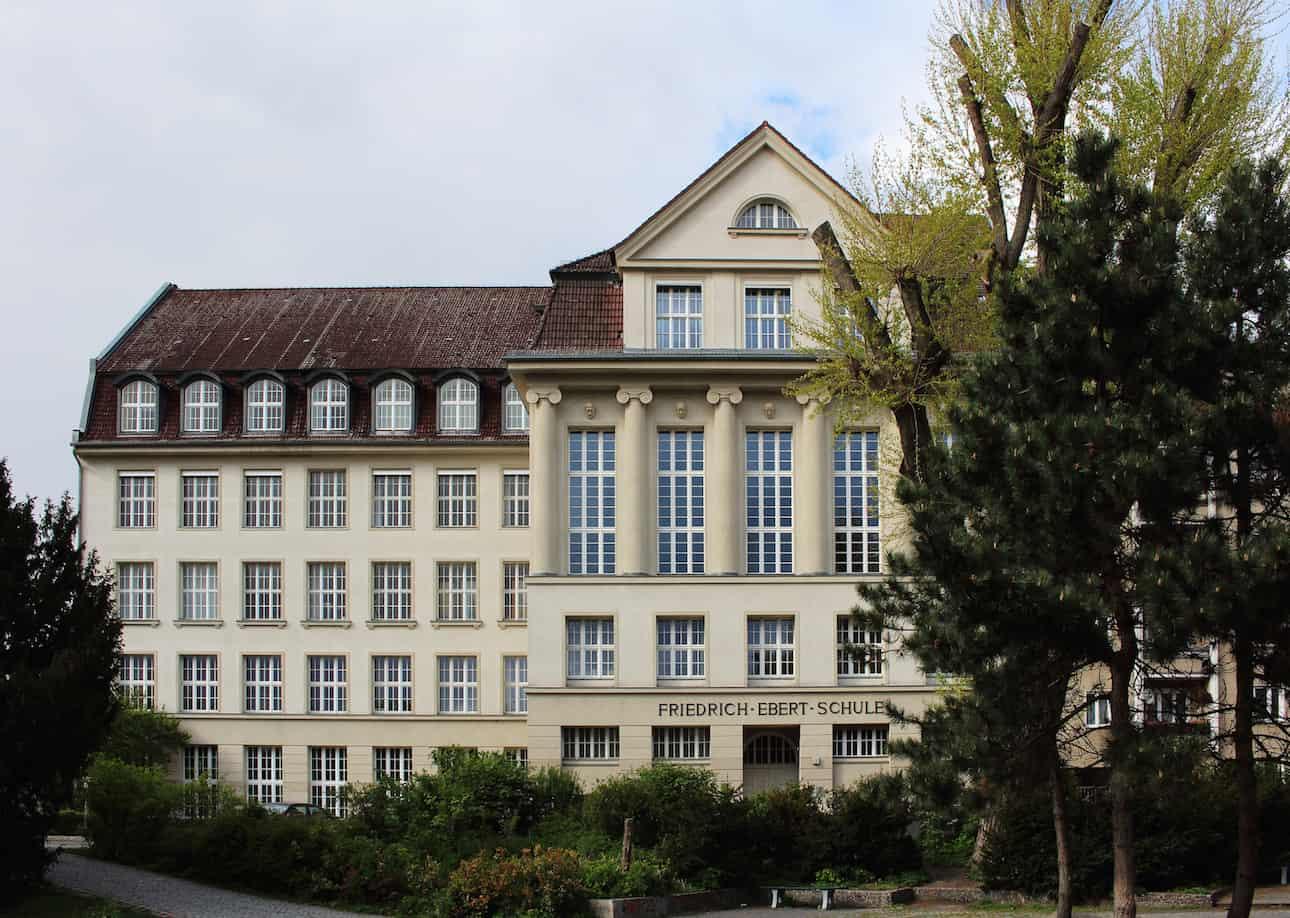 Ein Schulgebäude in Berlin