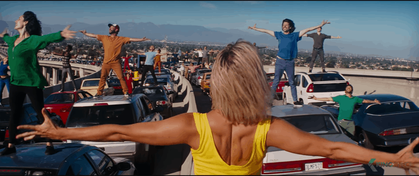 Screenshot des Films La La Land