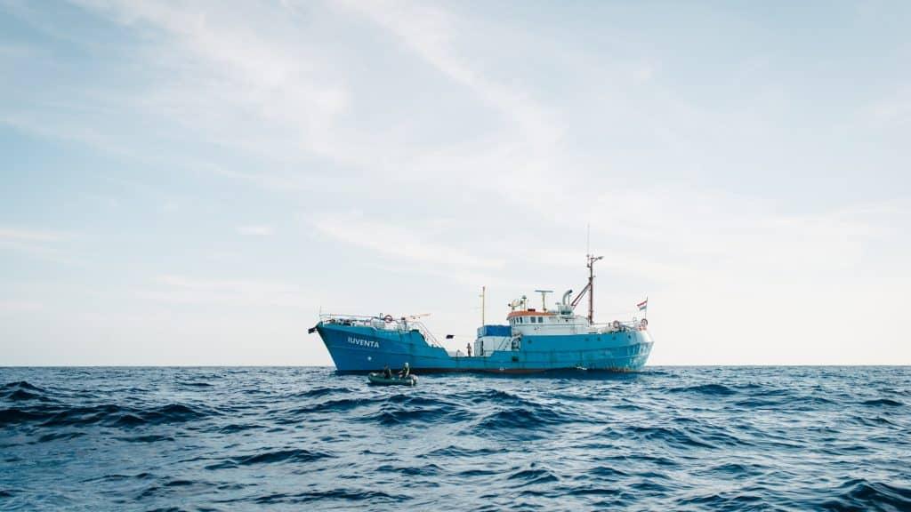 Das Schiff von Jugend Rettet