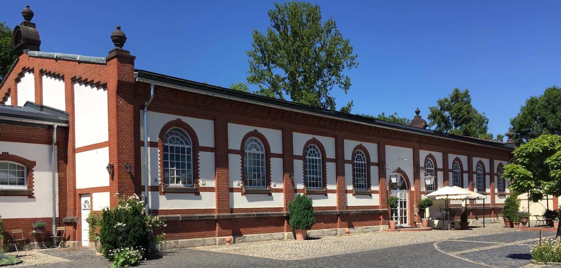 Das Gebäude der Tanzschule in Wolfenbüttel