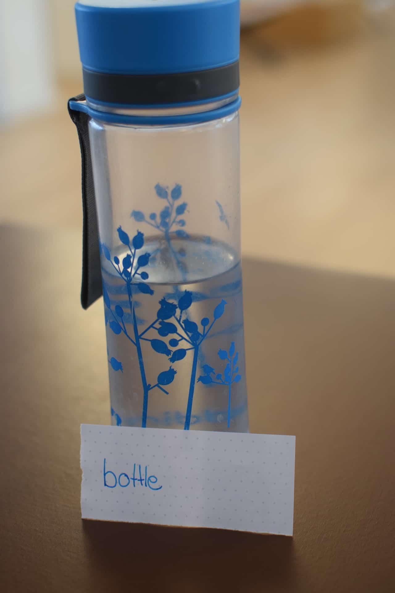 bottle heißt Flasche