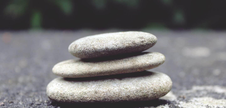 Drei Steine