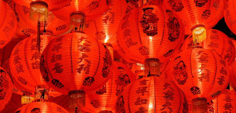 Dekoration zum chinesischen Neujahrsfest