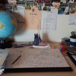Schreibtisch von Marc