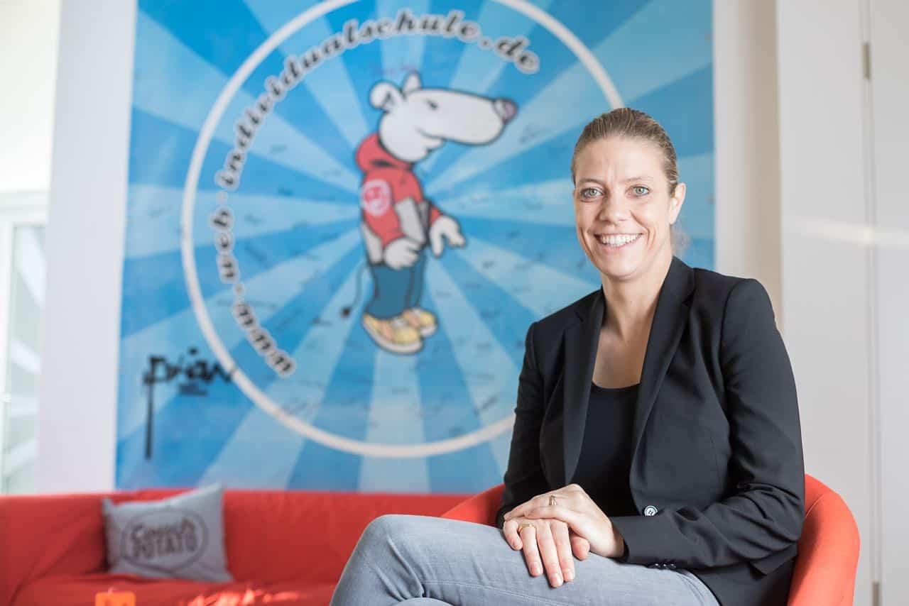 Sarah Lichtenberger von der Web-Individualschule
