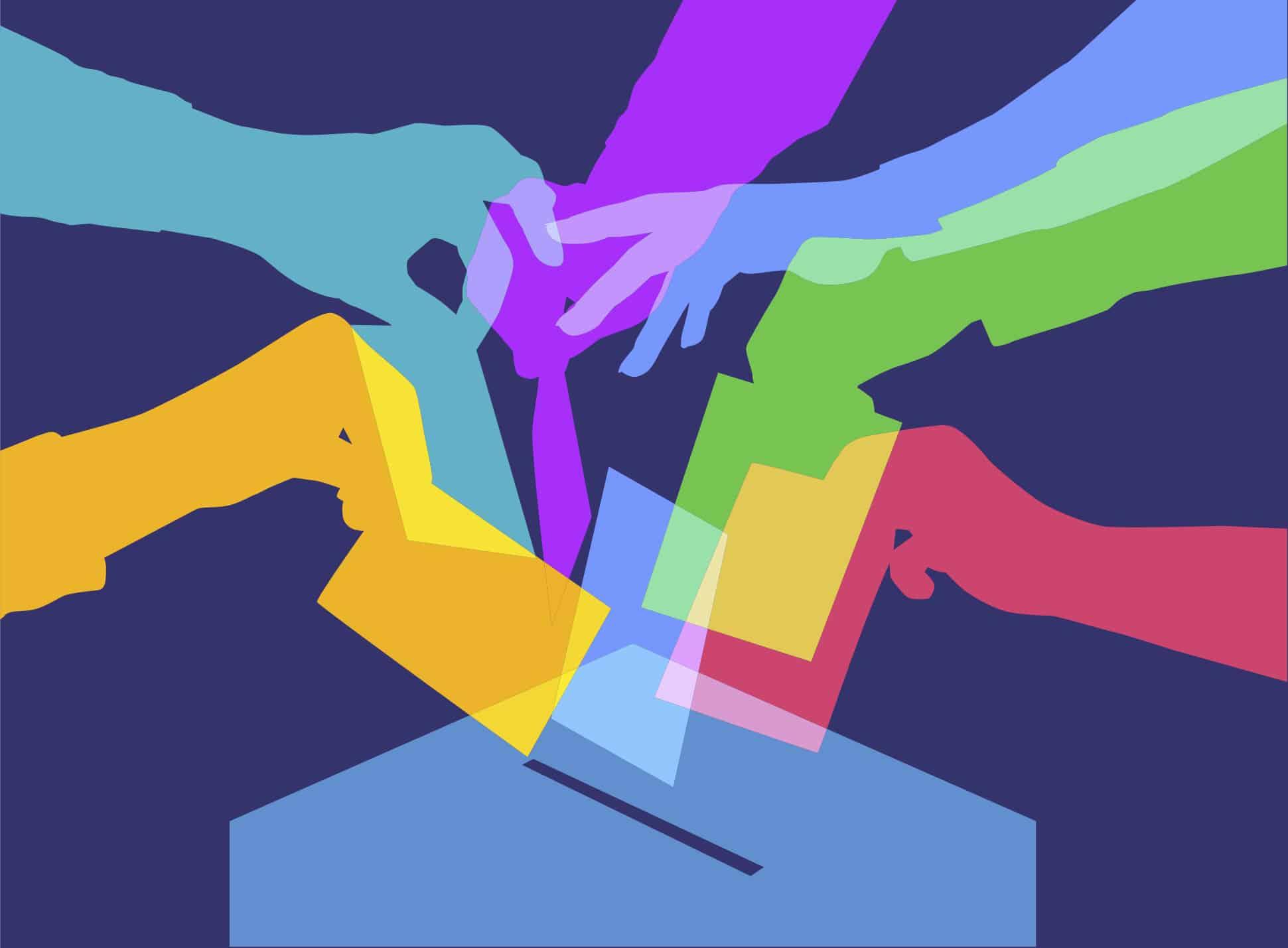 Illustration Abstimmung