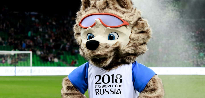 Das Maskottchen der WM 2018