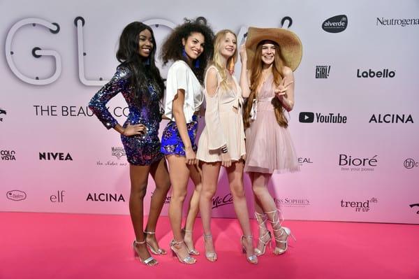 Germany's next Topmodel Kandidatinnen 2018 Abigail, Julianna, Trixi und Klaudia