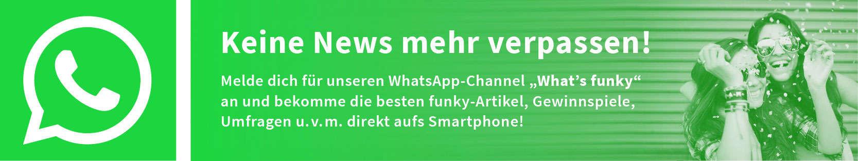 Anzeige für WhatsApp