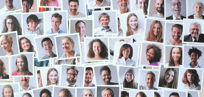 Viele Gesichter