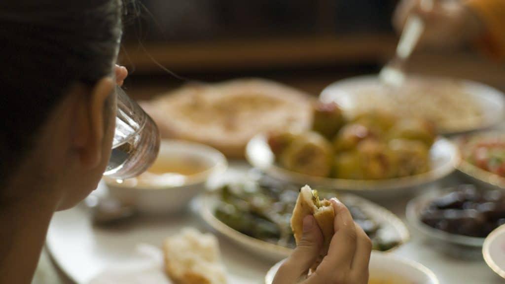Fastenbrechen im Ramadan