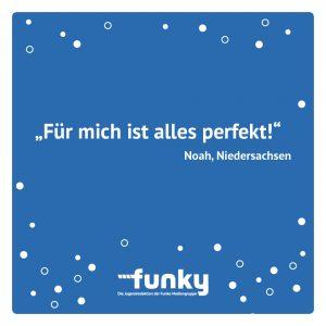 Statement von Noah