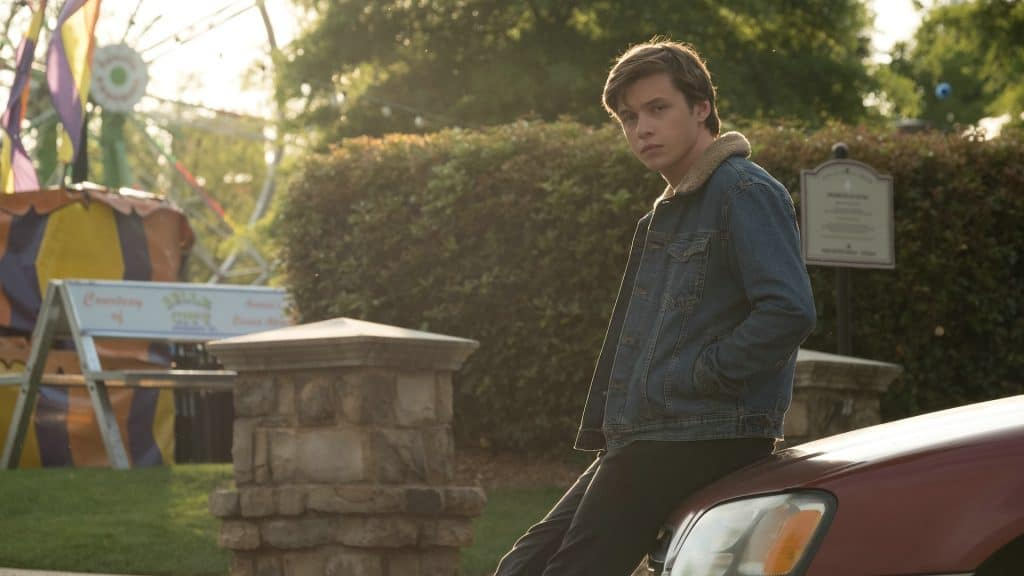 Szene aus dem Film Love, Simon