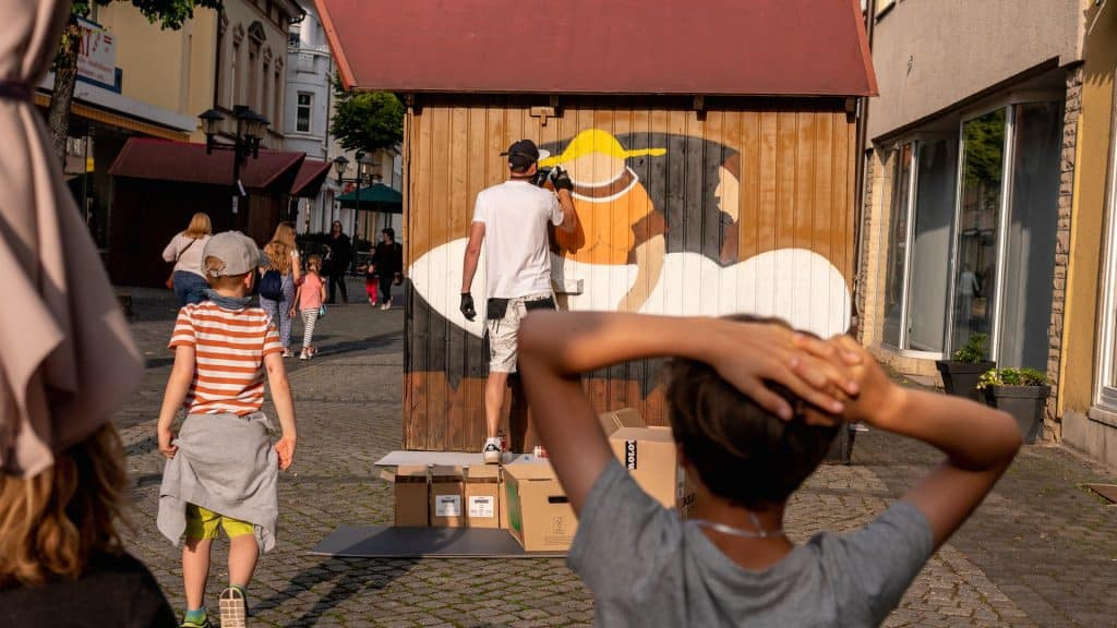 Szene aus der Nacht der Kultur in Heilnbad Heiligenstadt