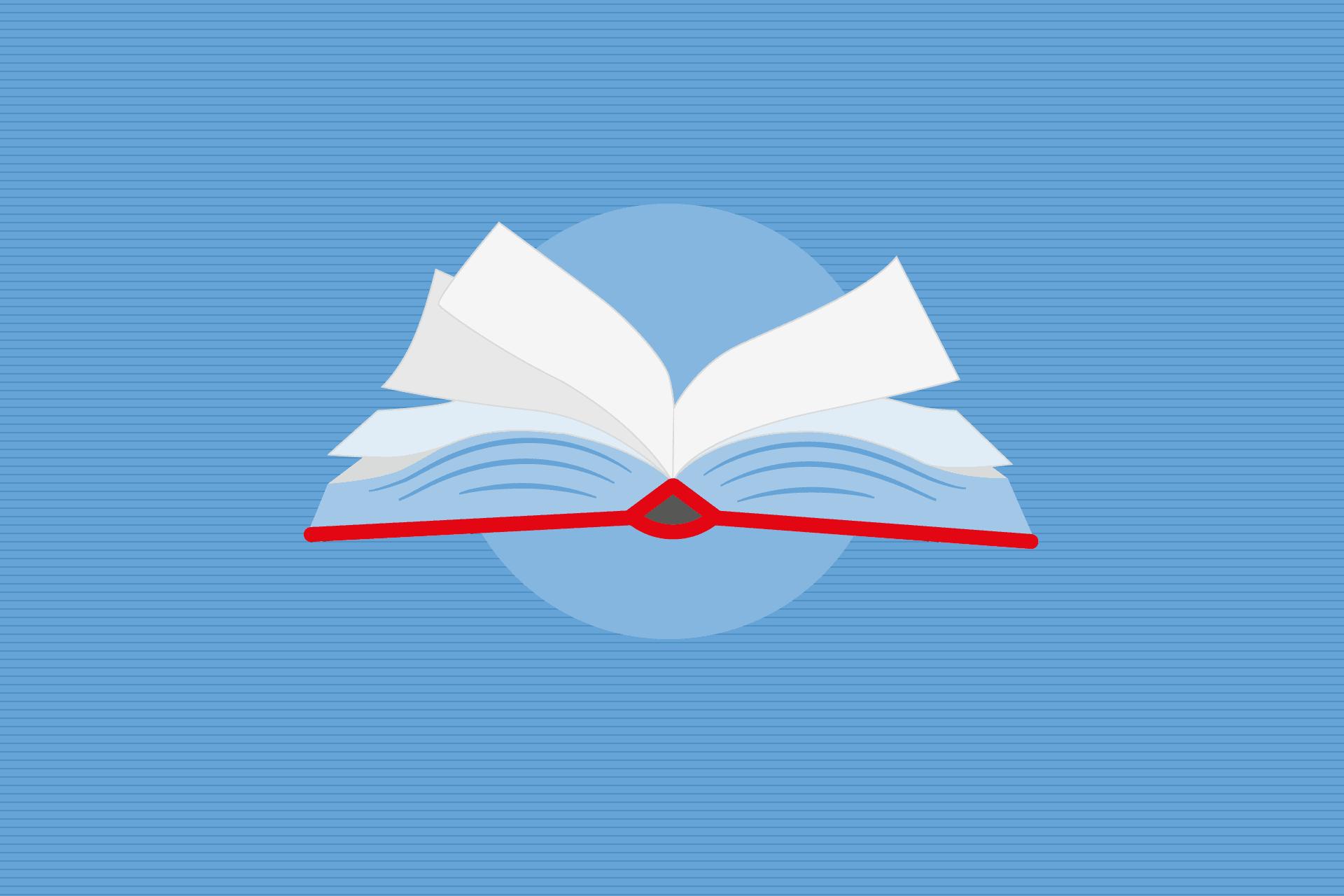 Ein gezeichnetes Buch