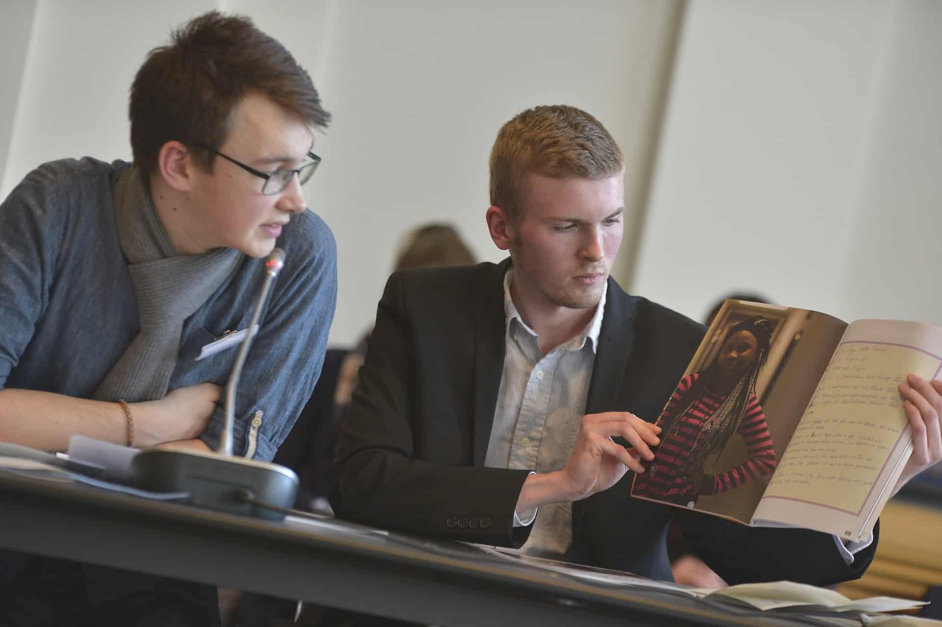 Jury des Schülerzeitungswettbewerbs