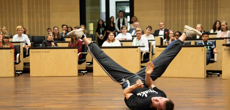 Breakdance Tänzer