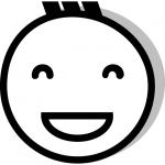 Lächelndes Emoji