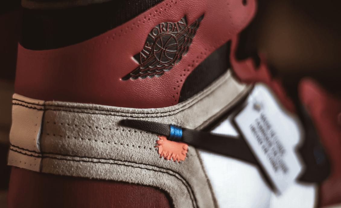 Nahaufnahme Air Jordans