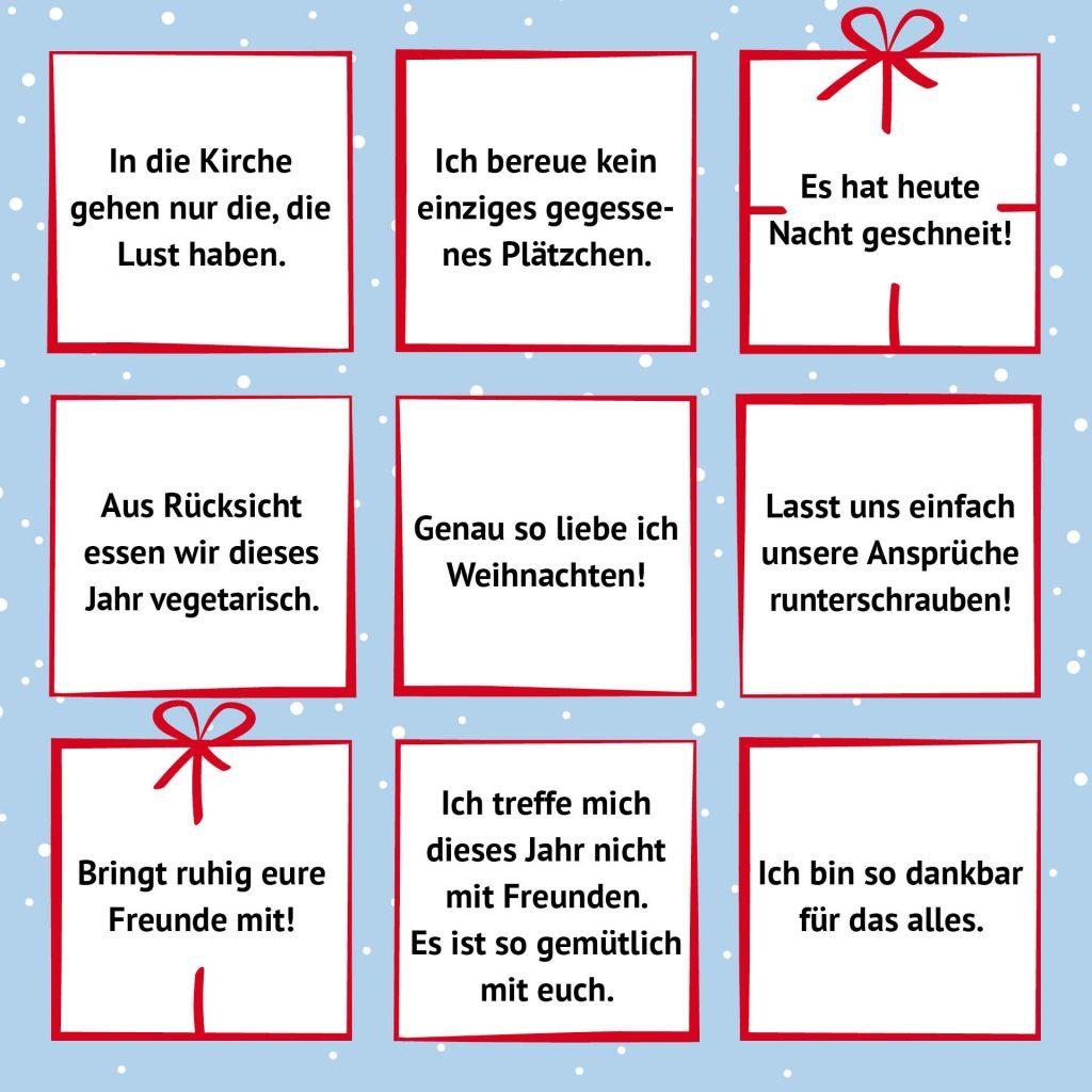 Bingo Sätze Wünsche