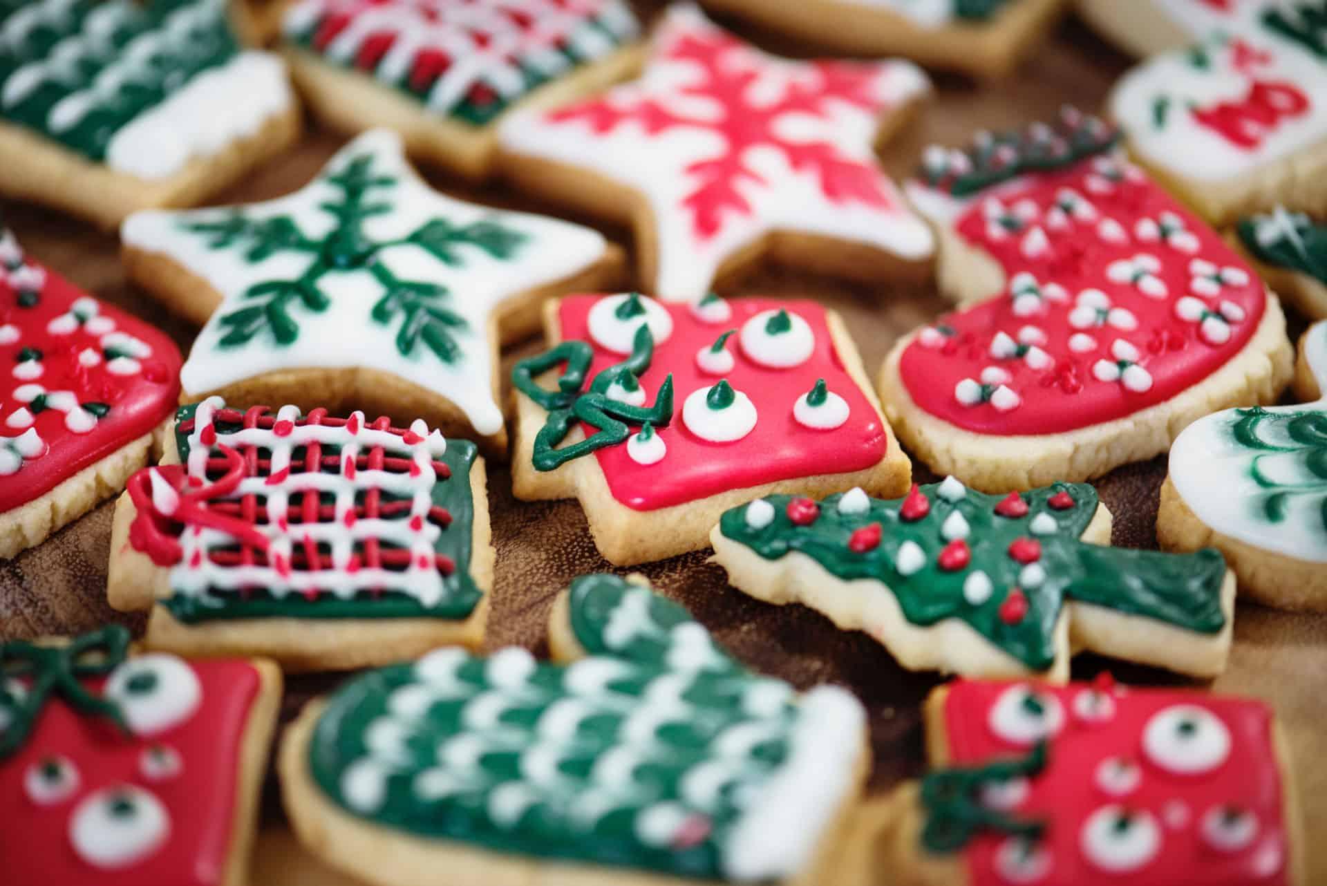 Leckere Weihnachts Plätzchen