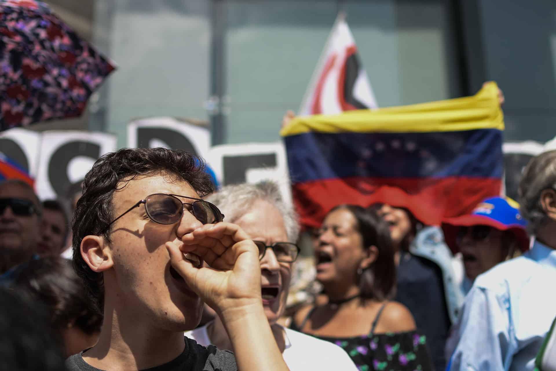 Demonstranten in Venezuela