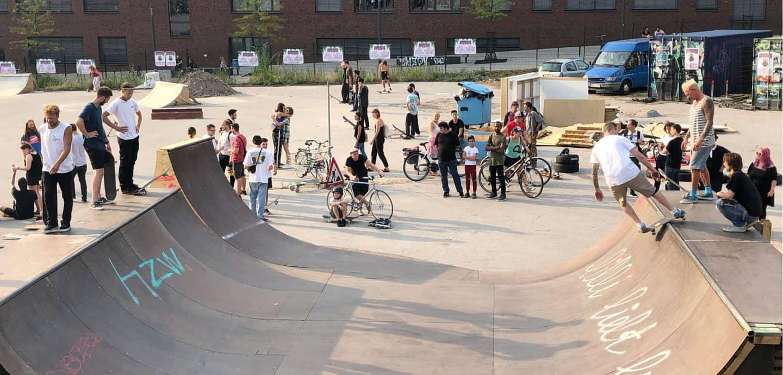 Skaterampe im Utopia