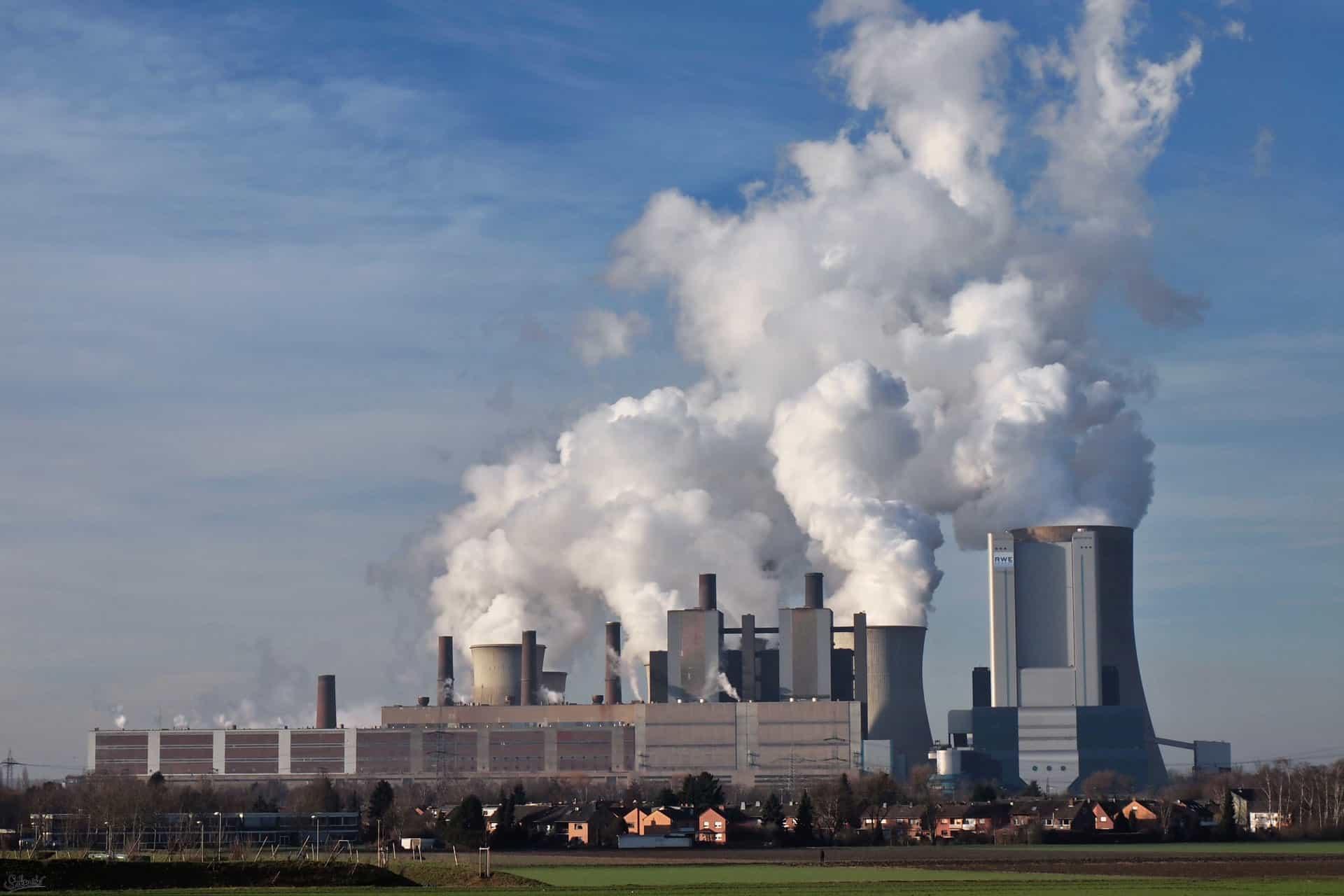 Das Kohle Kraftwerk Niederaußem