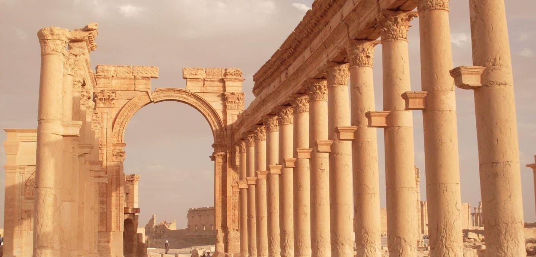 So schoen ist die antike syrische Stadt Palmyra (c) Pixabay