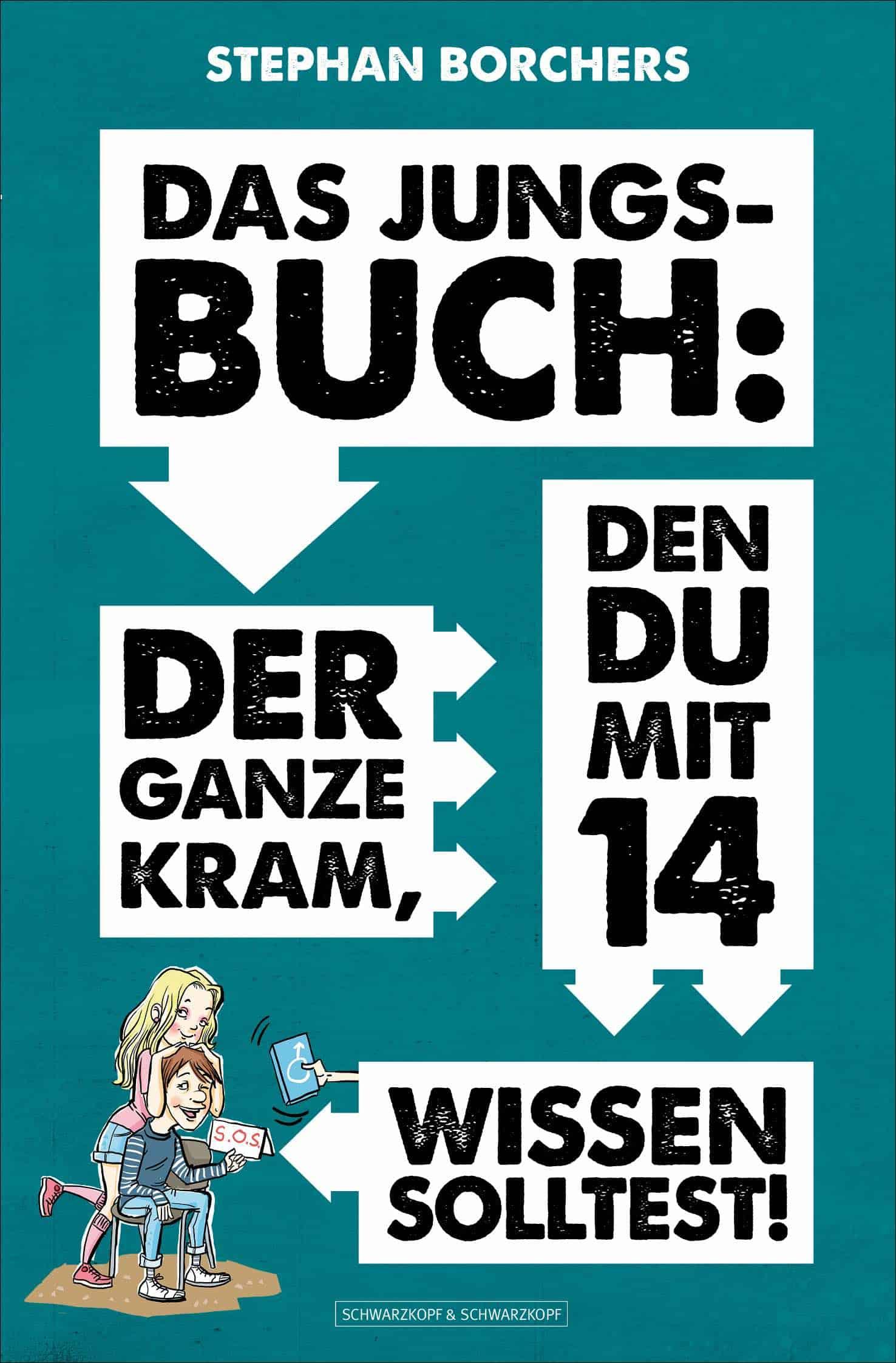 """Cover von """"Das Jungsbuch"""" (c) Schwarzkopf & Schwarzkopf"""