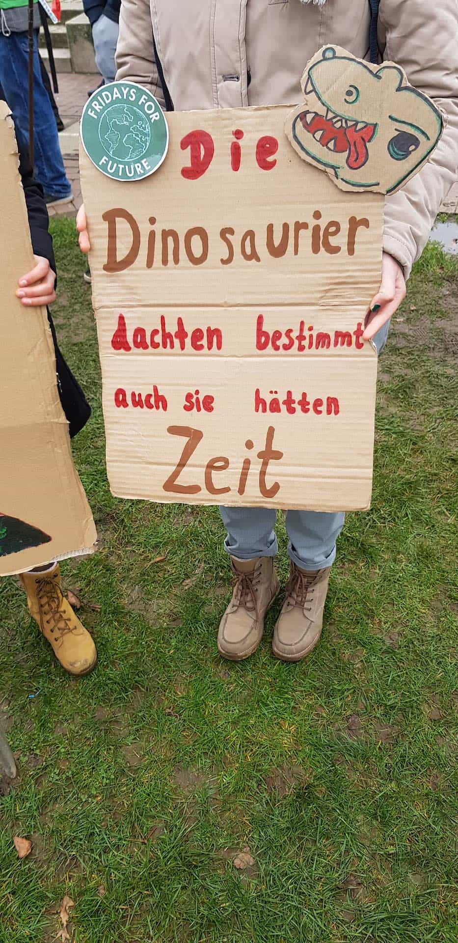 Die Dinosaurier dachten auch, sie hätten Zeit (c) Emma Kadach