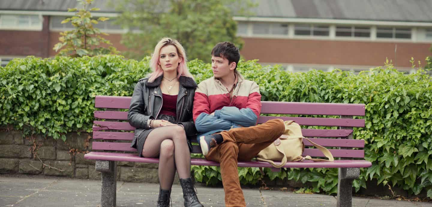 Maeve und Otis aus Sex Education (c) Sam Taylor / Netflix