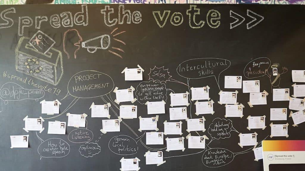 Workshop bei spread the vote