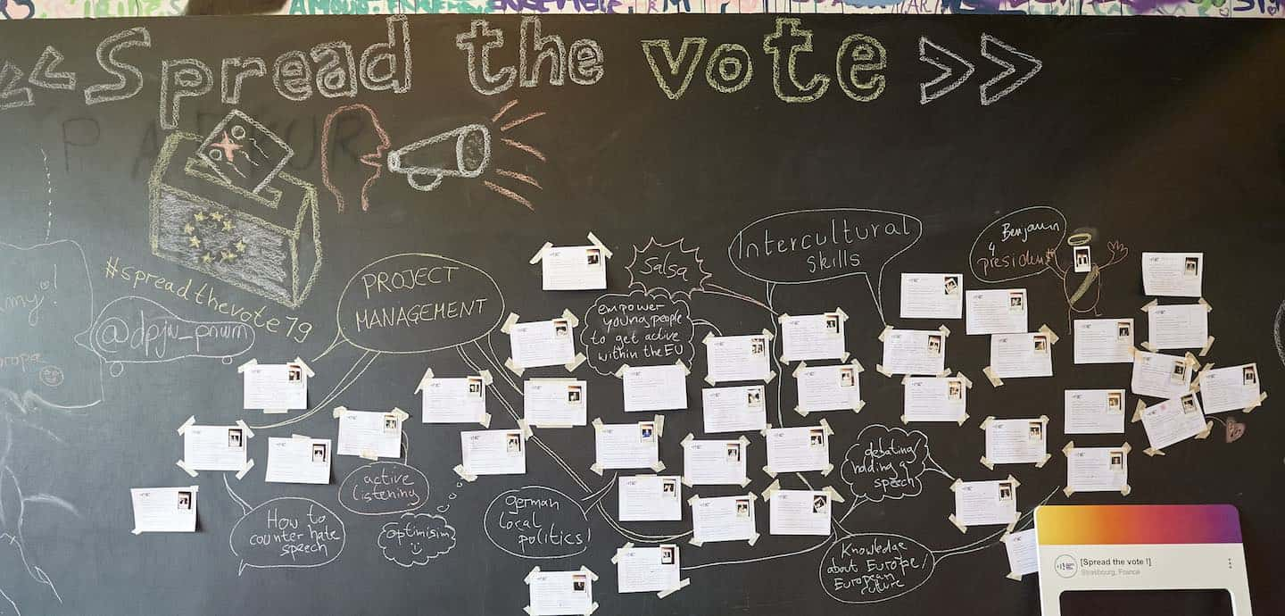 Workshop bei spread the vote