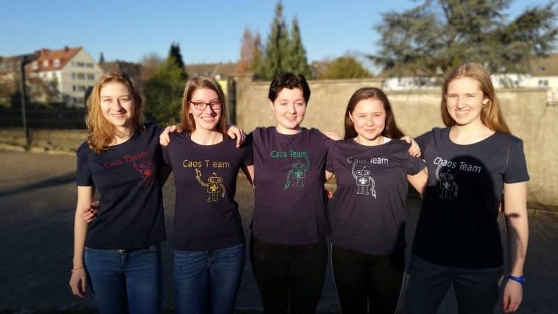 fünf junge Mädchen (c) BMV Schule