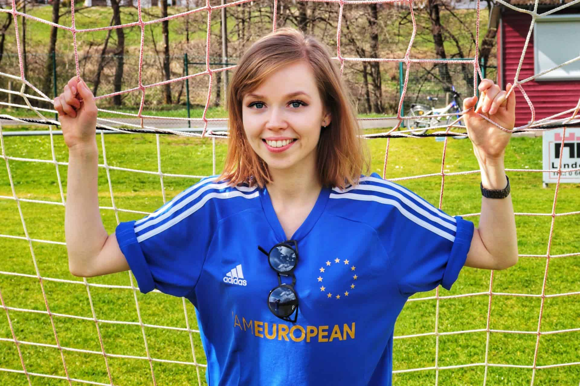 Katrin Micolaiczyk in einem Jersey von WhyEurope