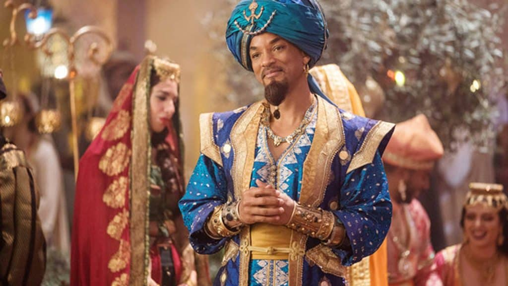 Will Smith in der Neuverfilmung von Aladdin. Foto: picture alliance/ Everett Collection
