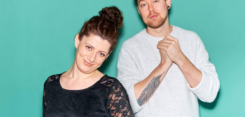 Jana Crämer und Musiker Batomae. Foto: Eckard Albrecht