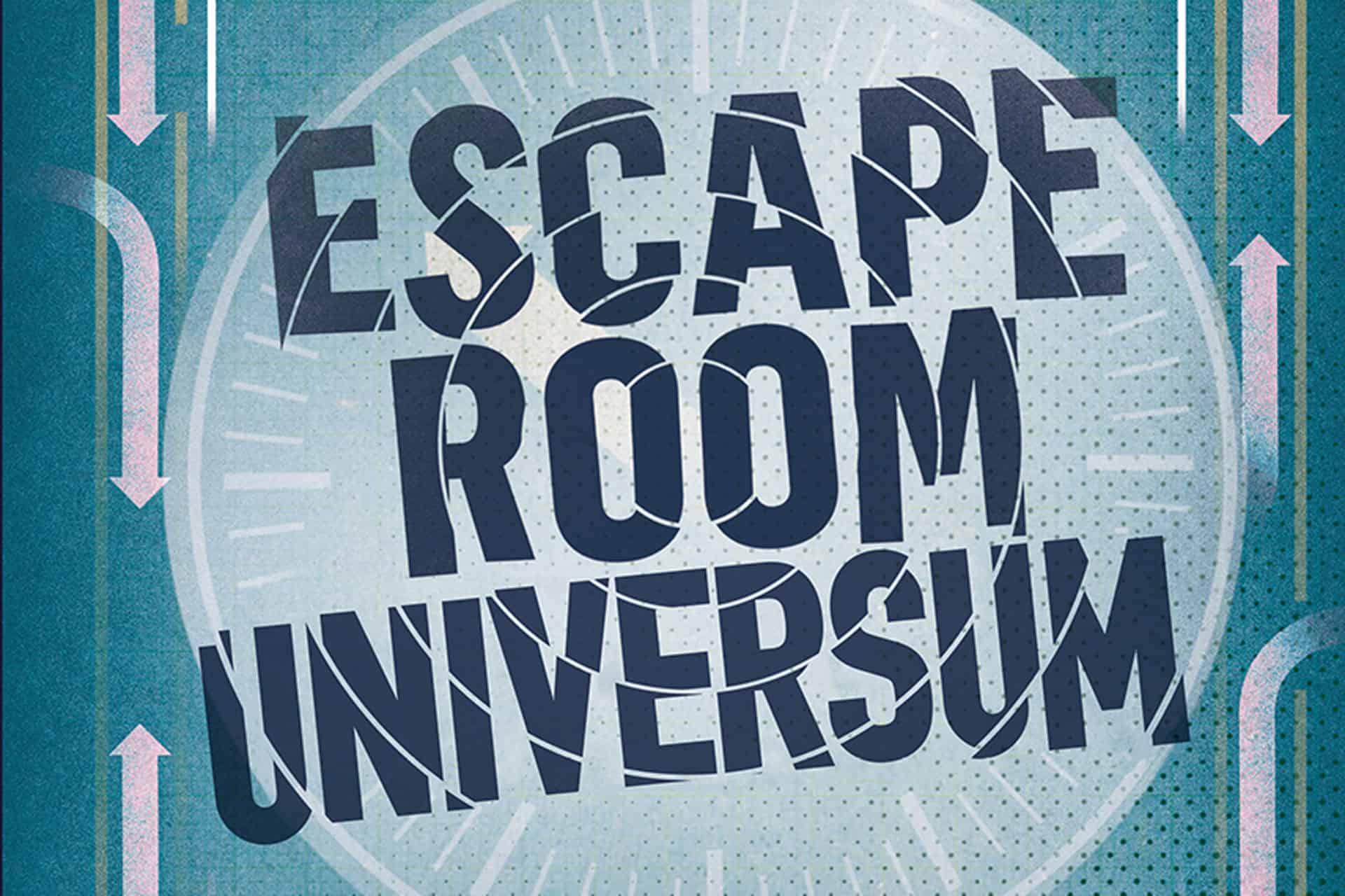 Das Cover von Escape Room Universe. Foto: Ullmann Medien