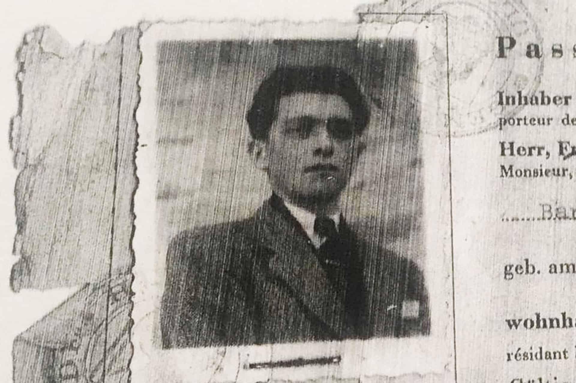 Foto von Opa Rudolf aus dem Jahr 1945