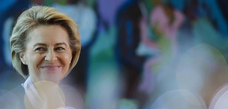 Ursula von der Leyen, die neue EU-Kommissionspräsidentin