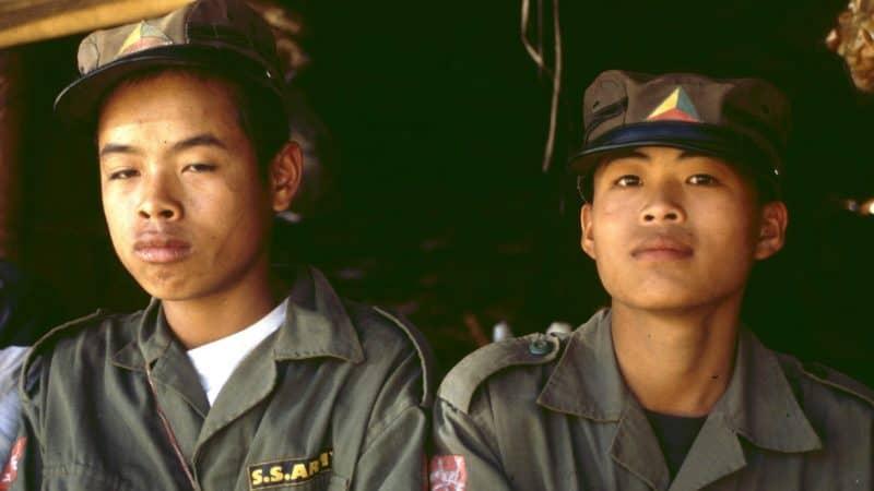 Kindersoldaten werden häufig noch im Krieg eingesetzt