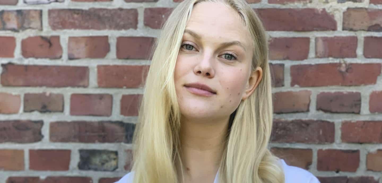 Model Anne-Sophie Monrad