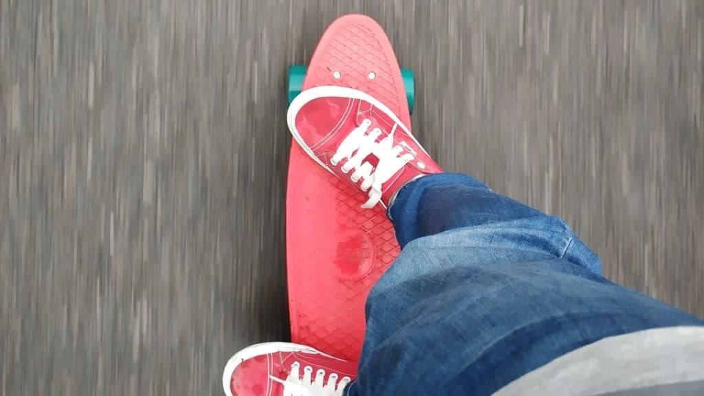 Realitätsvorstellung, skateboard
