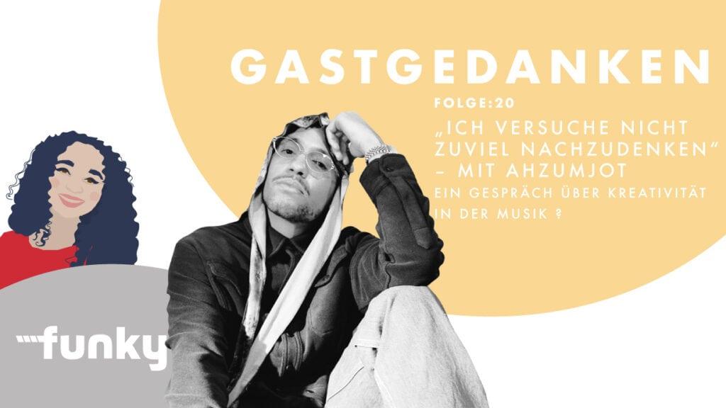 Cover von Gastgedanken Folge 20 mit dem Rapper Ahzumjot